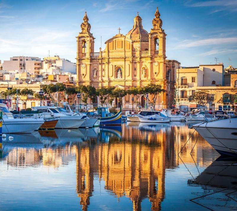 Voyage linguistique séjour anglais Malte Séjours Agency