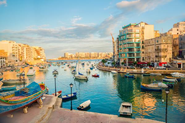 Séjour linguistique Sliema Malte apprendre l'anglais à Malte
